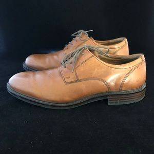 Johnston & Murphy Shoes Brown Leather Lace Up